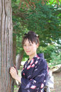 Free Japanese Woman In A Yukata Stock Photography - 21180952