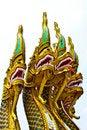 Free Four Heads Nagas Stock Image - 21182181