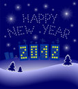 Free New Year S 2012 Illustration Stock Images - 21185174