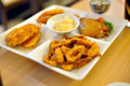Free Fried Squid Rings Royalty Free Stock Image - 21185496
