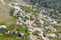 Free Aerial View On Small Balkans Village - Montenegro Stock Photos - 21185933