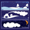Free Christmas Banners Stock Photo - 21189560