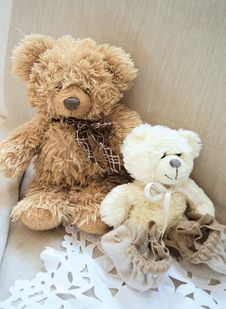 Free Teddy Bears Toys Royalty Free Stock Images - 21180569