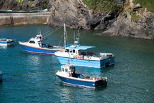 Free Boats In Port Isaac Royalty Free Stock Images - 21180659