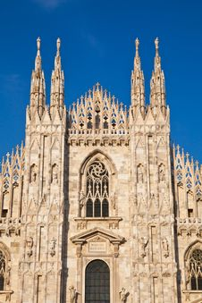 Free Milan Cathedral Royalty Free Stock Image - 21181066