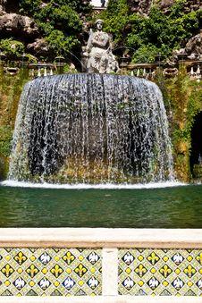 Villa D Este - Tivoli Stock Photo