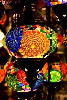Free Arabic Lanterns Royalty Free Stock Images - 21181199