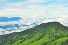 Free View Point Of Phu Soi Dao Nationnal Park Stock Image - 21181251