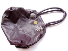 Free Branded Leather Purse Royalty Free Stock Image - 21181756
