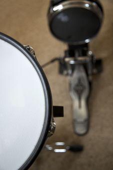Free Electronic Drums Stock Image - 21181911