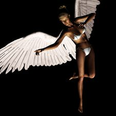 Free Angel 165 Royalty Free Stock Images - 21185079