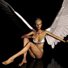 Free Angel 167 Royalty Free Stock Photo - 21185095
