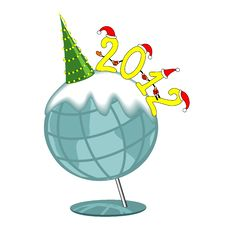 Free New Year S 2012 Illustration Stock Photography - 21185192