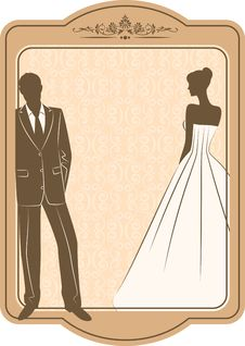 Free Beautiful Bride And Groom Royalty Free Stock Photos - 21185848