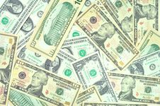 Free Dollars Stock Photography - 21186772
