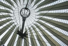 Free Sony Center Roof In Berlin Stock Photography - 21187602