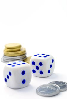Free Items For Gambling Royalty Free Stock Photo - 21188505