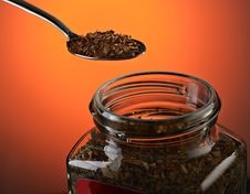 Free Instant Coffee Royalty Free Stock Photography - 21189217