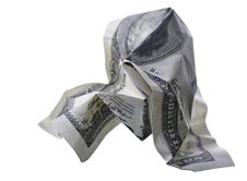 Free Crumpled Monetary Denomination Stock Photo - 21189500