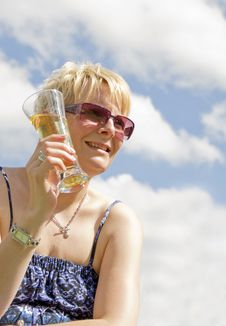 Free Blond Women In Sun Stock Photography - 21189562