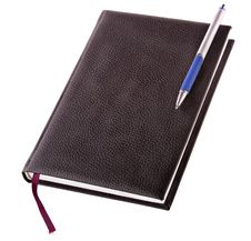 Free Notebook  And  Pen Royalty Free Stock Photo - 21189615