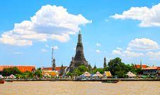 Free Thai Temple, Wat Arun. Stock Photos - 21189723