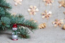 Free Snowman Stock Photo - 21189890