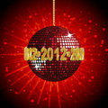 Free 2012 Disco Ball2 Stock Images - 21195684