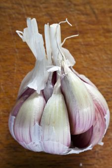 Free Violet Garlic Royalty Free Stock Images - 21190869