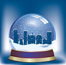 Free Snow Globe Stock Image - 21191041