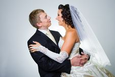 Free Just Married Bride And Groom Stock Photo - 21191580