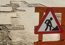 Warning Sign Stock Image