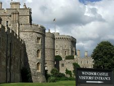 Free Windsor Castle Entrance Stock Photography - 21193392