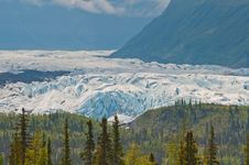 Free Closeup Of Majestic Glacier Royalty Free Stock Photos - 21193588