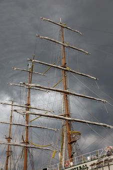 Free Masts And Sky Royalty Free Stock Photography - 21194027