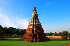 Free Thai Temple, Buddha, Ayutthaya. Royalty Free Stock Photo - 21194335
