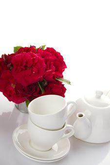 Free Utensils For Tea-drinking White Royalty Free Stock Photos - 21196518