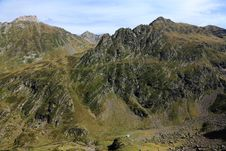 Landscape In Pyrenees Mountains Royalty Free Stock Photography