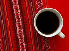 Free A Cup Of Coffee. Royalty Free Stock Photography - 21197077
