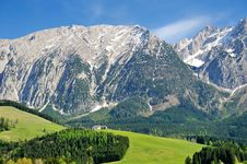 Alps Landscape Royalty Free Stock Image