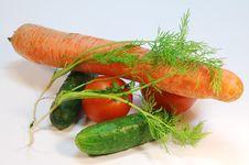 Free Few Vegetables Stock Image - 21197641