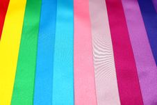 Free Colored Ribbons Royalty Free Stock Image - 21197696