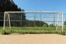 Free Football Gates Stock Photography - 21197762