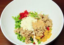 Free Salad Preparation Stock Image - 21199581
