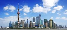 Free China Shanghai Panorama Stock Photos - 21199783
