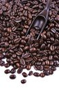Free Scoop Of Coffee Bean Royalty Free Stock Image - 2126816