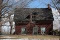 Free Sinking Farm House Stock Image - 2128251