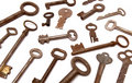 Free Antique Keys 1 Royalty Free Stock Images - 2128719