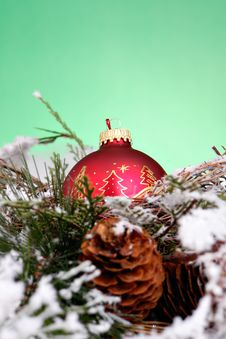 Free Red Ornament Royalty Free Stock Image - 2120636