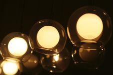 Lightening Lamp Stock Photo